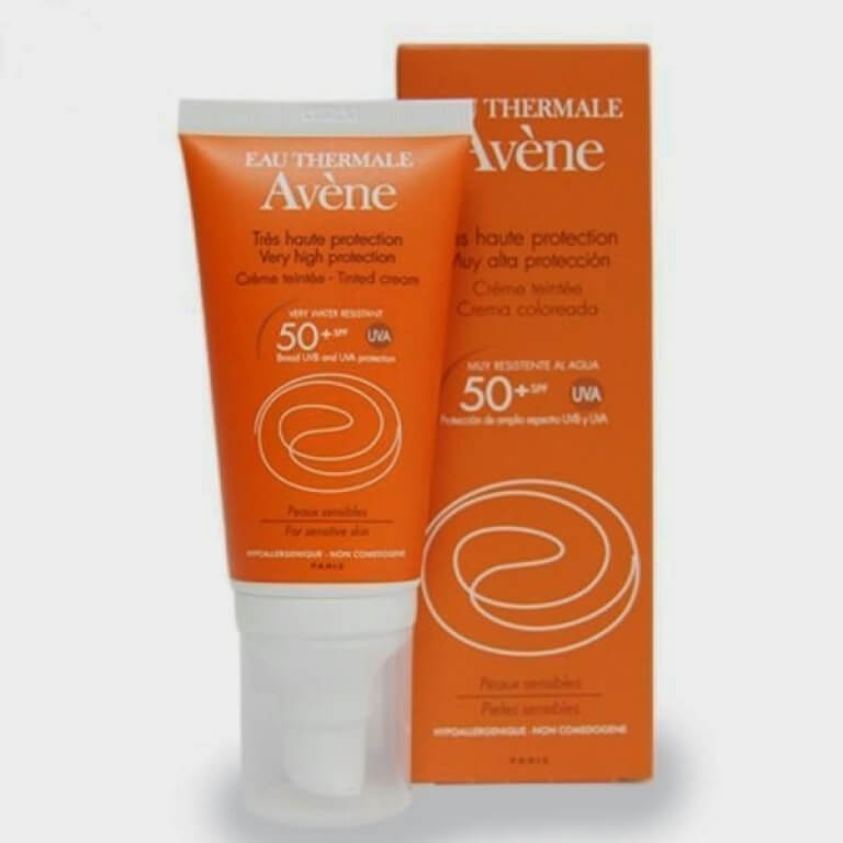 Very high protection tinted cream 50+ 50ml