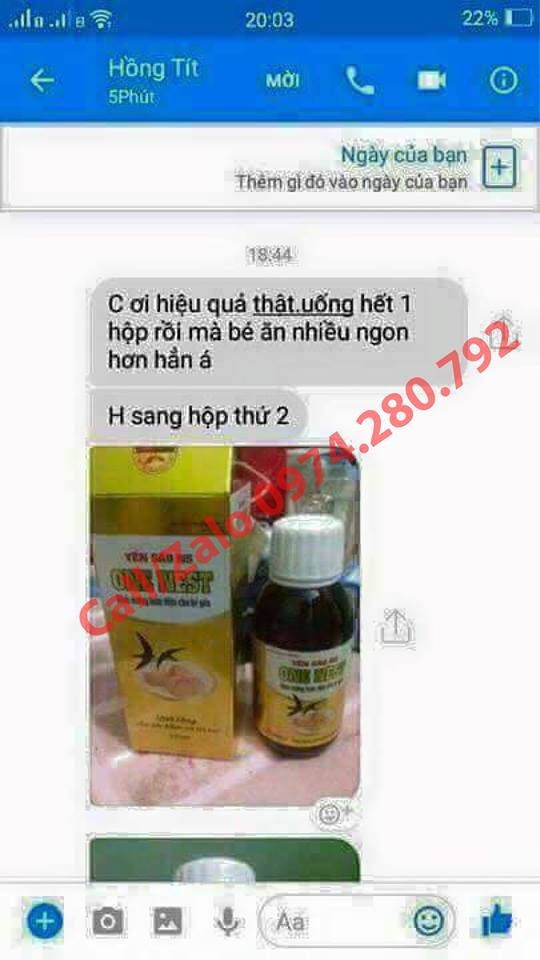 Feed back yến xào one nest