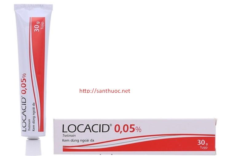 Locacid Cream 0.05% 30g - Thuốc điều trị mụn trứng cá hiệu ...