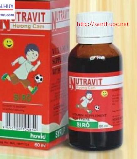 Nutravit Syrup.60ml - Giúp bổ sung dưỡng chất cho cơ thể ...